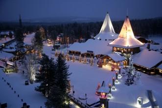 Viajes a Laponia en Navidad 2017: Viaje a la casa de Santa Claus en el Círculo Polar Ártico
