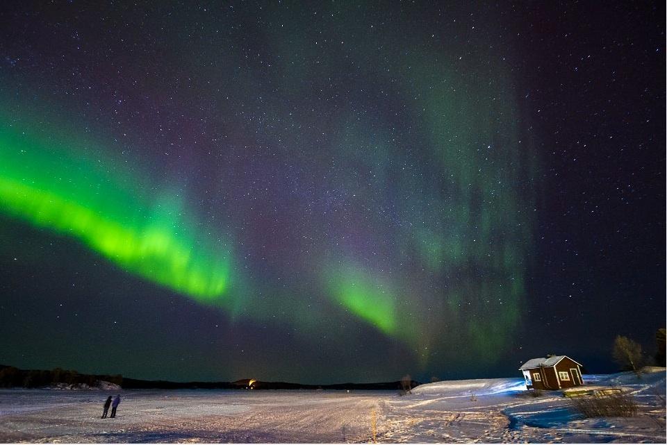 Viajes Laponia Semana Santa e invierno 2015: Viaje Laponia Lago Iniari y Aurora Boreal