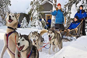 Viajes Laponia Navidad 2020: Viaje a Laponia Navidad 2020 Aventura en Ivalo 8 días