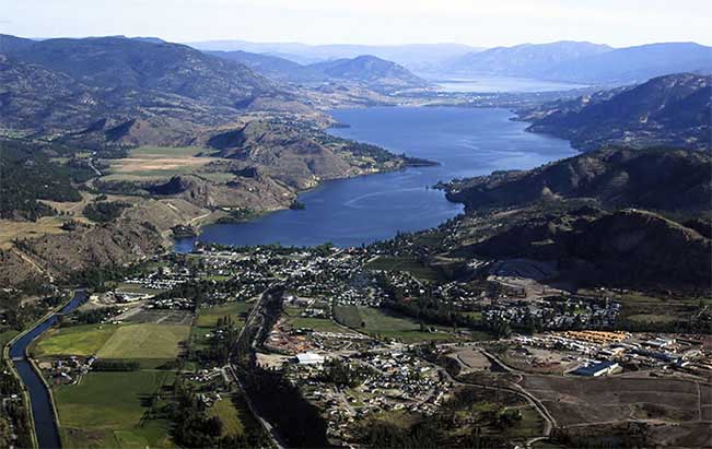 viajes canada okanagan valley