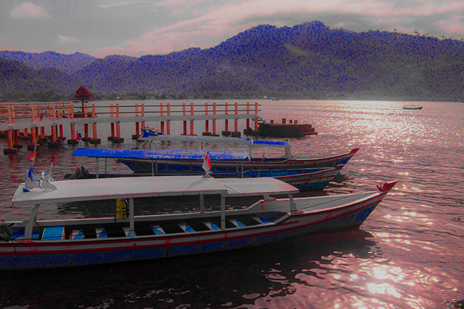 viajes indonesia barco painan