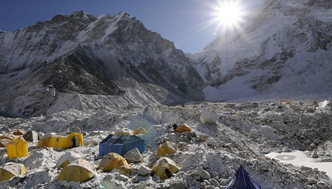 viajes nepal campo base everest